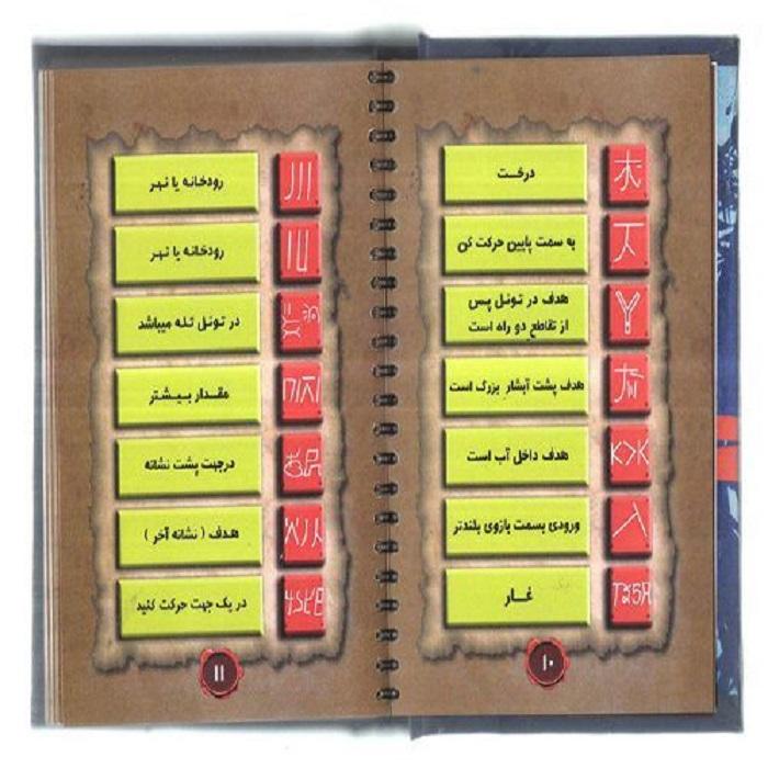 کتاب رمزیاب نماد دفینه