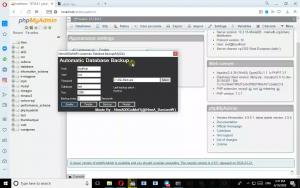سورس برنامه بکاپ گیری خودکار از دیتابیس MySQL