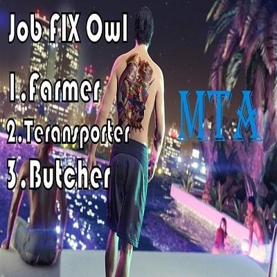 اسکریپت فیکس JOB برای گیم مود OWL