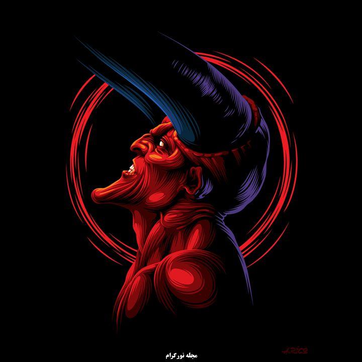 شیطان سرخ