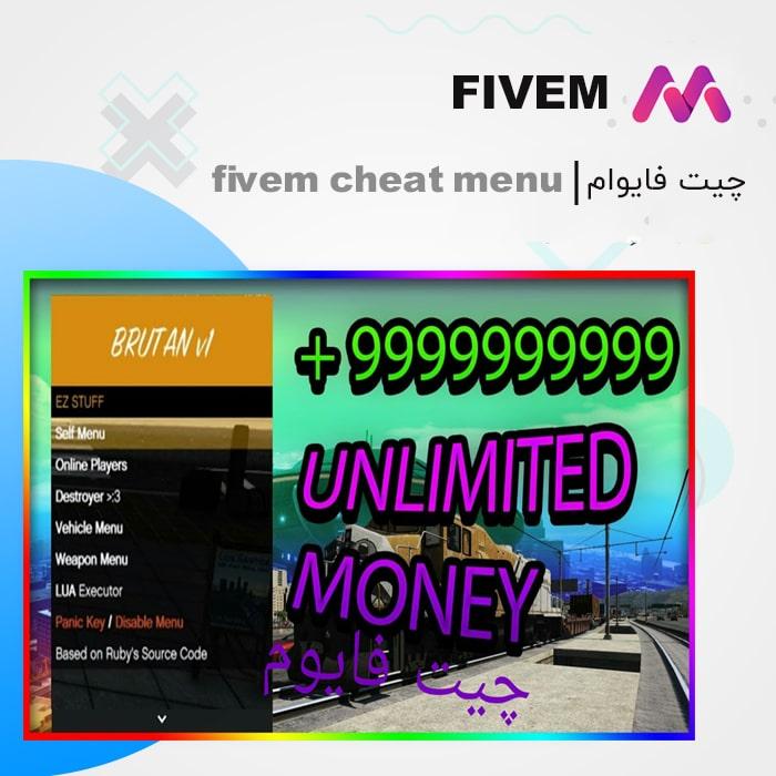 چیت فایوام   fivem cheat menu
