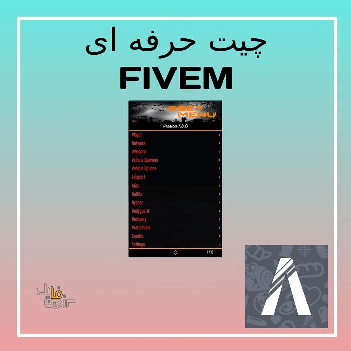 چیت حرفه ای FIVEM