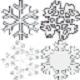 گرافیک زمستان همراه با بارش برف برای MTA